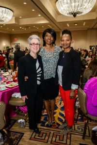 Susan Finfer, Gigi Edwards and Sun Connor at Women's Fund of Central Texas' Power of the Purse